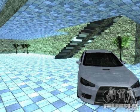HD Автосалон для GTA San Andreas третий скриншот