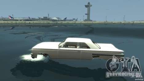 Voodoo Boat для GTA 4 вид слева