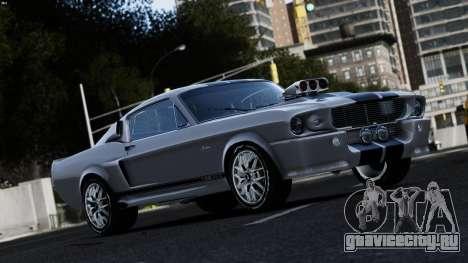 Ford Shelby Mustang GT500 Eleanor для GTA 4
