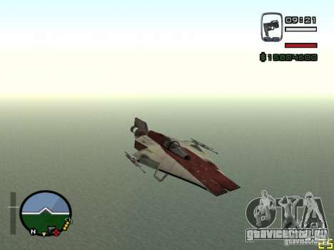 Истребитель из Alien City для GTA San Andreas