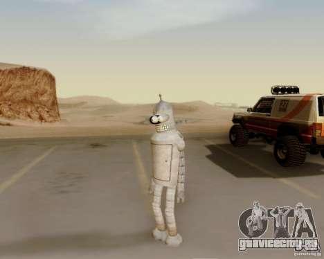 Futurama для GTA San Andreas четвёртый скриншот