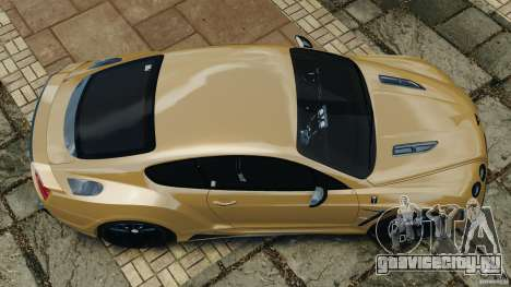 Bentley Continental GT Premier v1.0 для GTA 4 вид справа