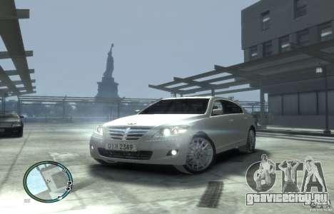 Hyundai Genesis Sedan Elite для GTA 4