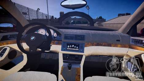 BMW M5 E39 Hamann [Beta] для GTA 4 вид сзади