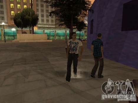 Black Stallion Peds для GTA San Andreas третий скриншот