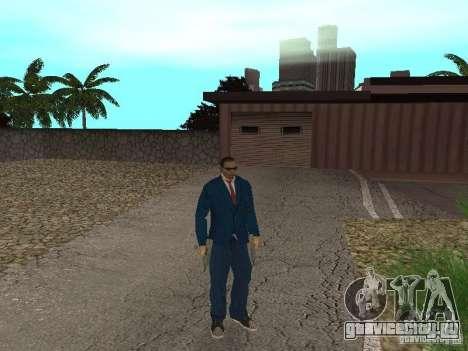 CJ Mafia Skin для GTA San Andreas пятый скриншот