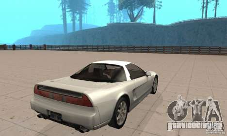 Acura NSX 1991 для GTA San Andreas вид слева