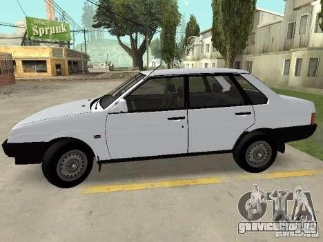 ВАЗ 21099 Сток для GTA San Andreas