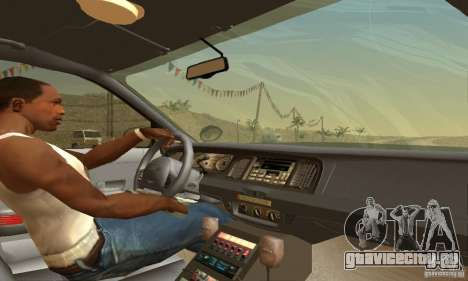 Ford Crown Victoria Pennsylvania Police для GTA San Andreas вид сзади слева