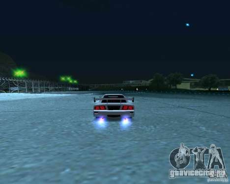 Azik Turismo для GTA San Andreas вид сзади