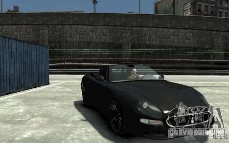 Maserati 3200 CampioCorsa для GTA 4 вид сзади