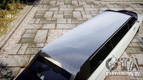 Rolls Royce Phantom Sapphire Limousine Disco для GTA 4 двигатель