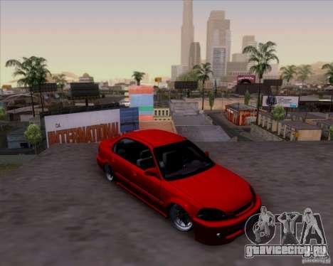 Honda Civic 16 LK 664 для GTA San Andreas вид сбоку