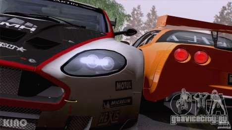 Aston Martin Racing DBRS9 GT3 для GTA San Andreas колёса