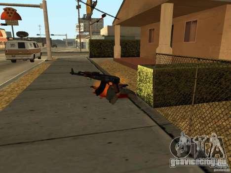 Отечественное оружие - версия 1.5 для GTA San Andreas девятый скриншот