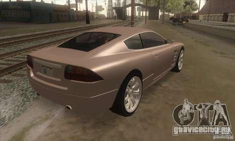 GTA IV F620 для GTA San Andreas вид справа