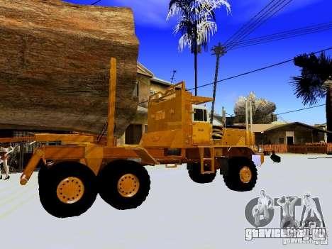 Hayes EQ 142 для GTA San Andreas вид сзади