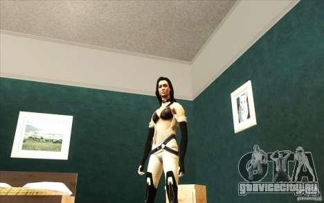 Girls from ME 3 для GTA San Andreas второй скриншот