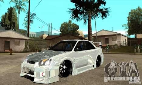 Subaru Impreza Tunned для GTA San Andreas