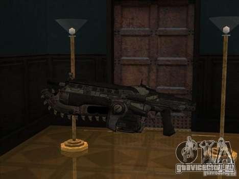 M4 из игры Gears of War для GTA San Andreas