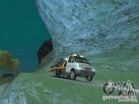 ГАЗ 3302 2003-2011г. Эвакуатор для GTA San Andreas вид справа