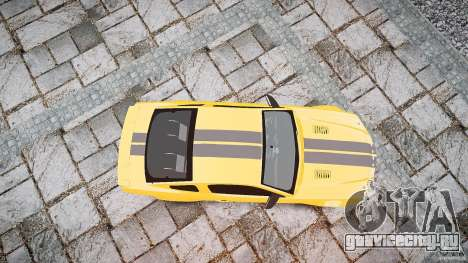 Shelby GT 500 KR 2008 K.I.T.T. для GTA 4 вид справа