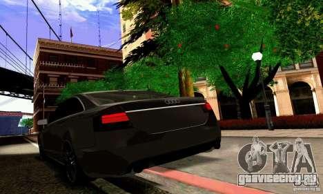Audi A6 Blackstar для GTA San Andreas двигатель