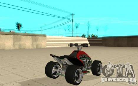 Powerquad_by-Woofi-MF скин 2 для GTA San Andreas вид сзади слева