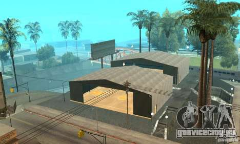Basketball Court v6.0 для GTA San Andreas четвёртый скриншот