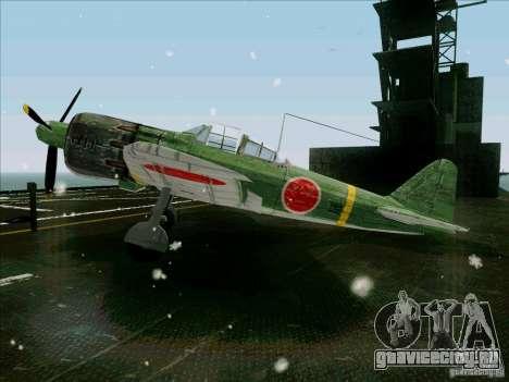 Японский самолёт для GTA San Andreas вид слева