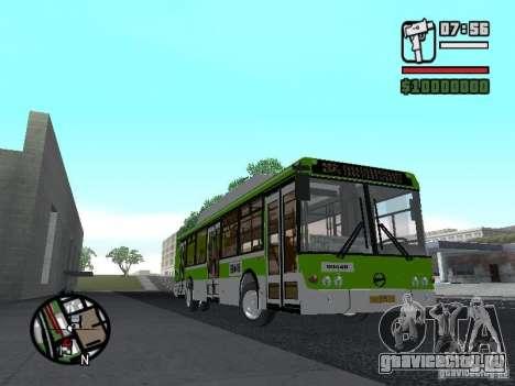ЛиАЗ 5292.70 для GTA San Andreas вид сзади слева