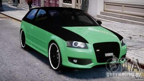 Audi S3 для GTA 4 вид сверху