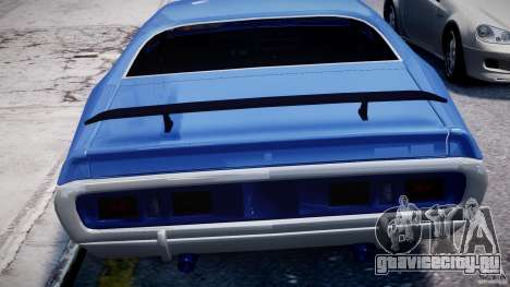 Dodge Charger RT 1971 v1.0 для GTA 4 колёса