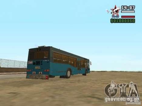 МАЗ-103С для GTA San Andreas вид справа