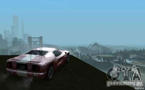 ENBSeries v1 for SA:MP для GTA San Andreas четвёртый скриншот