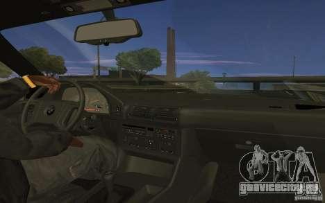 BMW 525 (E34) V.2 для GTA San Andreas вид слева