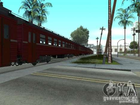 ЭР9М-576 для GTA San Andreas вид справа