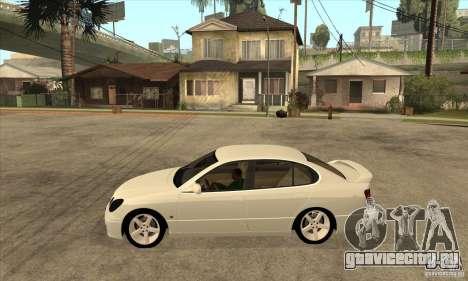 Lexus GS300 2003 для GTA San Andreas вид слева