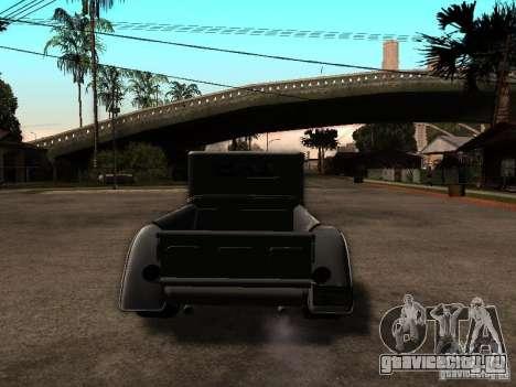 Ford Farmtruck для GTA San Andreas вид сзади слева