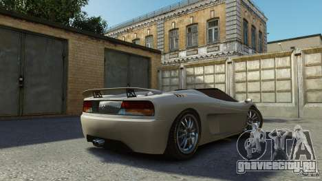 Turismo Spider для GTA 4 вид слева