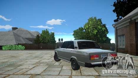ВАЗ 2107 v1.0 для GTA 4 вид справа