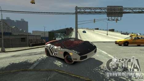 Lamborghini Gallardo LP560-4 [EPM] для GTA 4 салон