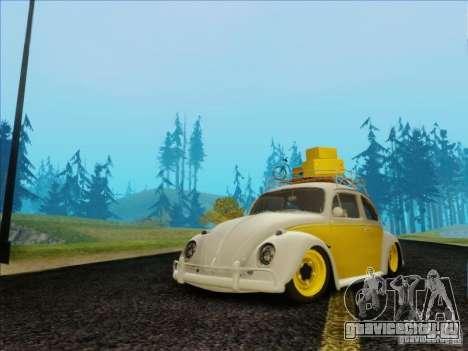 Volkswagen Beetle Edit для GTA San Andreas