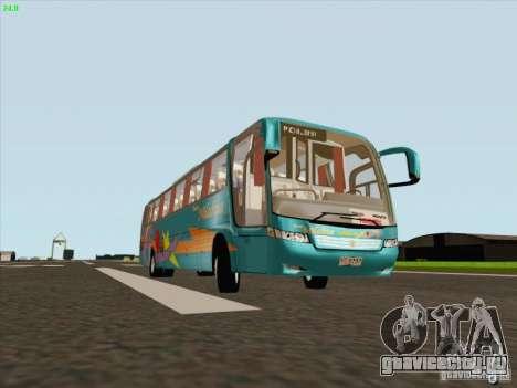 Mercedes-Benz Vissta Buss LO для GTA San Andreas вид слева