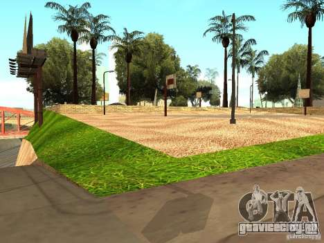 Новая баскетбольная площадка в Лос Сантосе для GTA San Andreas
