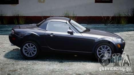 Mazda MX-5 для GTA 4 вид слева