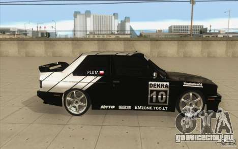 BMW E30 M3 - Coupe Explosive для GTA San Andreas вид изнутри