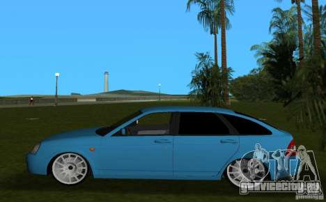 Lada Priora Хэтчбек v2.0 для GTA Vice City вид слева