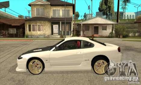 Nissan Silvia для GTA San Andreas вид слева