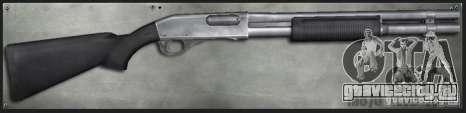 M870 2 Tone для GTA San Andreas
